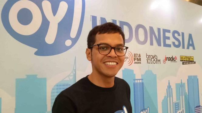 Pendiri dan CEO aplikasi OY! Indonesia, Jesayas Ferdinandus