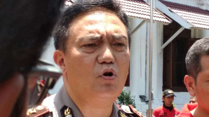 Kepala Divisi Humas Polri Brigadir Jenderal Polisi Mohammad Iqbal