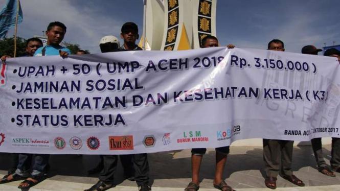 Ump Aceh 2019 Ditetapkan Rp2,9 Juta