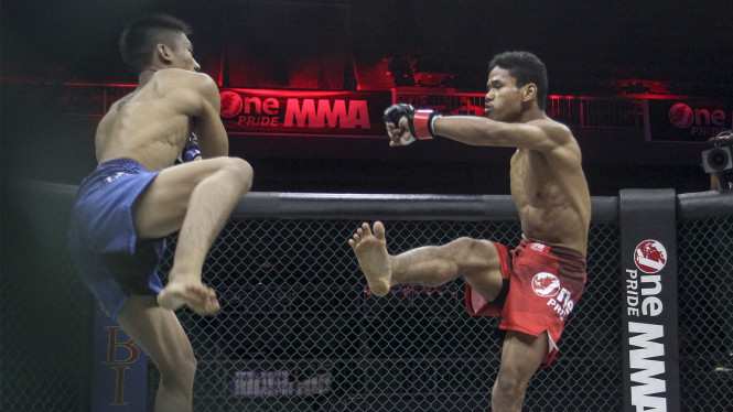 One Pride MMA #13 Sutrisno Melawan Rama Supandhi