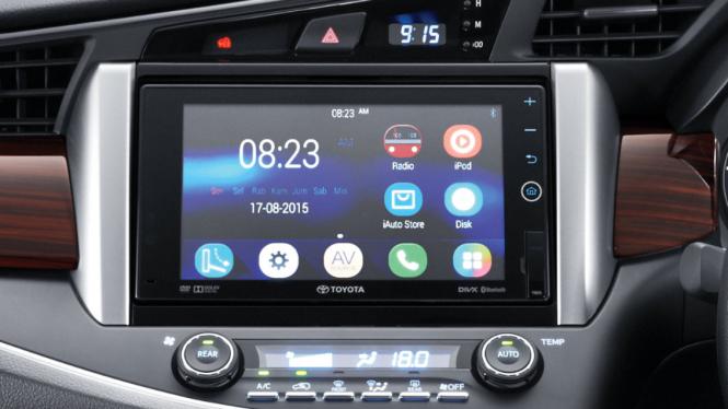 Head unit Toyota Kijang Innova