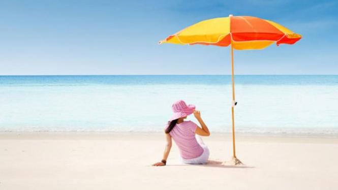 Ilustrasi pantai.