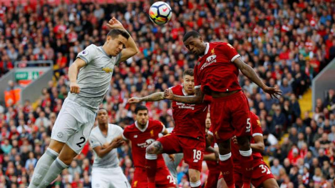 Duel Liverpool vs Manchester United