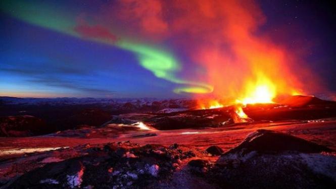Eyjafjallajokull, Islandia.