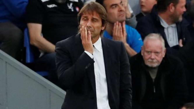 Pelatih Inter Milan, Antonio Conte.