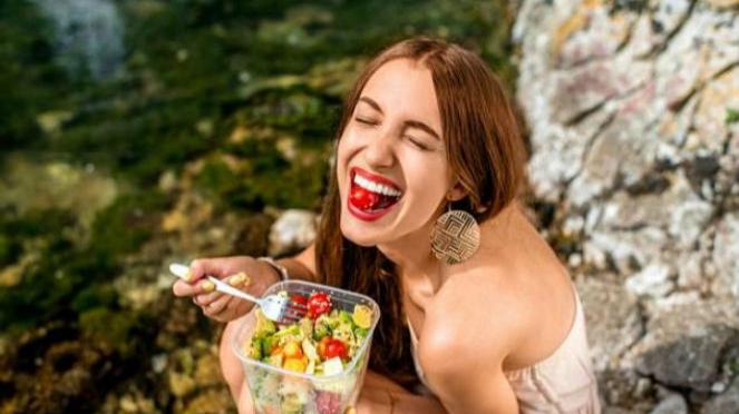Diet bahagia.