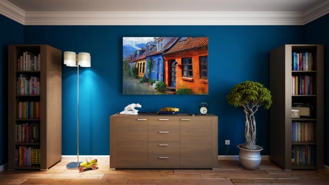 Ilustrasi ruangan