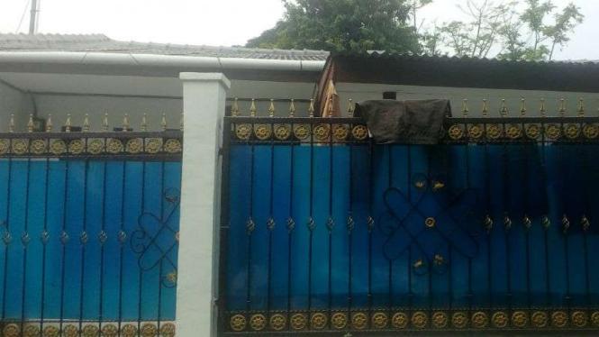Rumah Ridwan Sitorus di Gang Swadaya 9 RT004 RW07, Kelurahan Cilangkap, Depok.