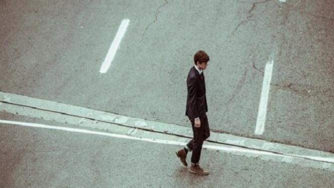 Ilustrasi kesepian.