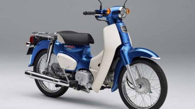 Honda Super Cub edisi terbaru.