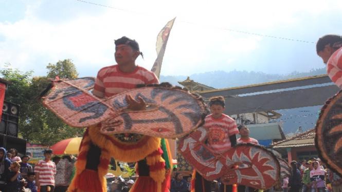 Jaran Kepang di perayaan Hari Raya Karo.