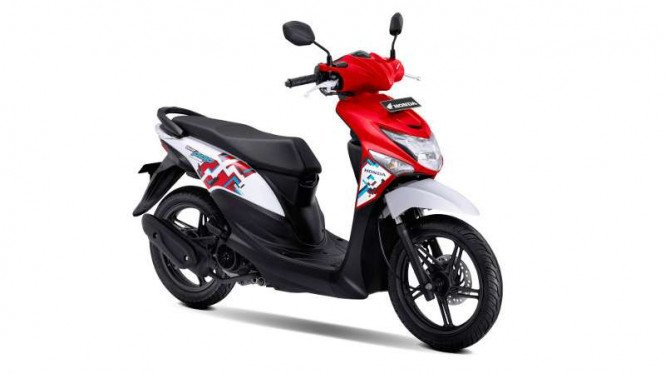 Honda BeAT POP baru.