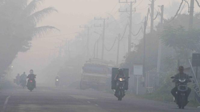 Parah, Kabut Asap Melanda Aceh