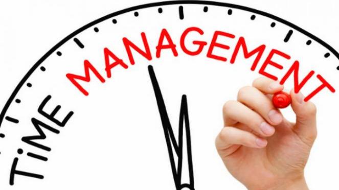 Ilustrasi managemen waktu.