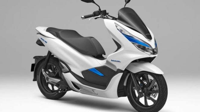 Honda PCX Electric. Ilustrasi.