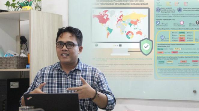 Deputi Direktur Riset Elsam, Wahyudi Djafar