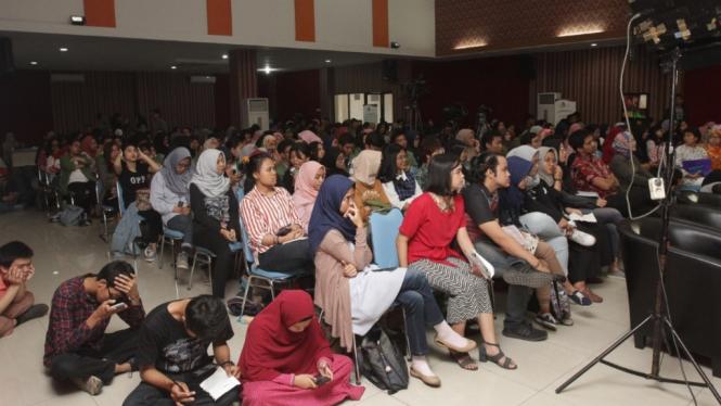 Ilustrasi kegiatan di UPN Veteran Jakarta