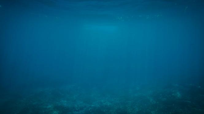 Ilustrasi lautan dalam
