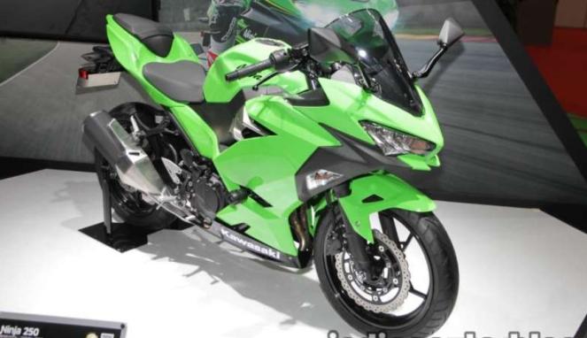 Kawasaki Ninja 250 terbaru muncul di Tokyo Motor Show 2017.