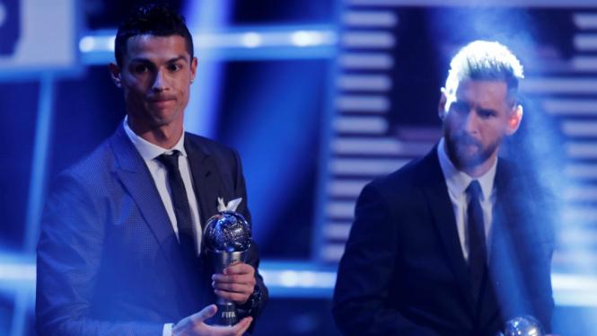 Cristiano Ronaldo dan Lionel Messi.