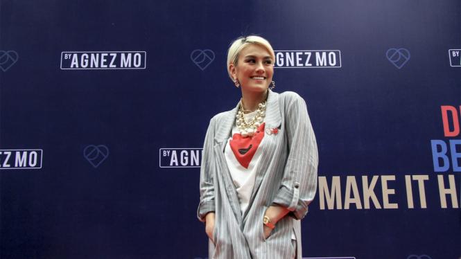 Agnes Mo Luncurkan Aplikasi Fashion Miliknya