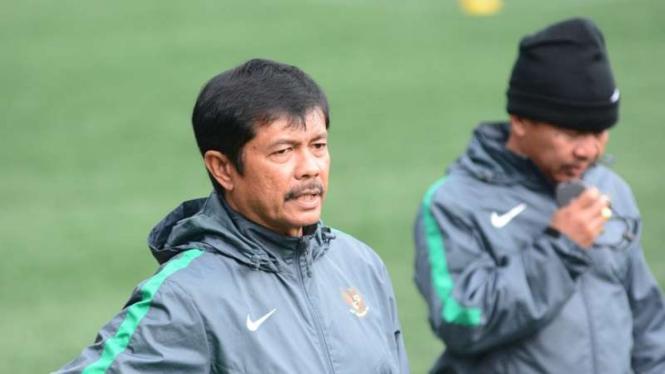 Indra Sjafri , Pelatih Timnas Indonesia U-19.