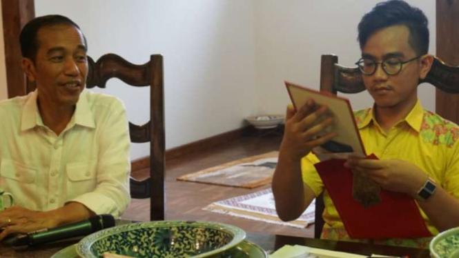 Keluarga Presiden Jokowi dan Gibran Rakabuming.