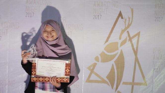 Mahasiswi IPB raih Juara 1 MTQMN XV.