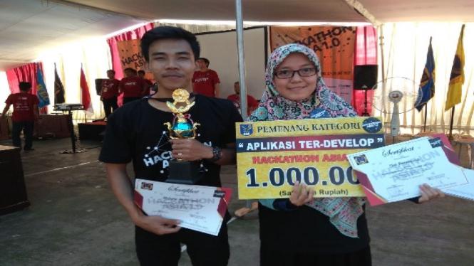 Pemenang Kompetisi Hackathon.