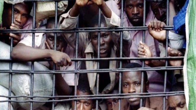Penjara Gitarama, Kigali, Rwanda.