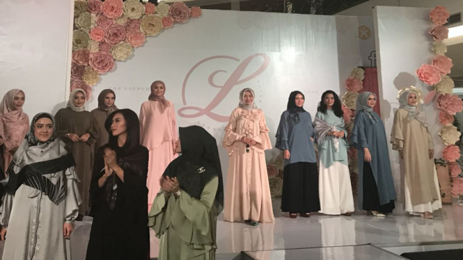 Laudya Cynthia Bella Jual Hijab Premium Viva
