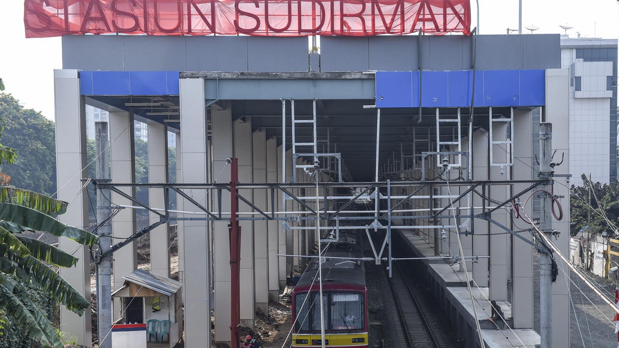 Stasiun Kereta Bandara Sudirman Baru