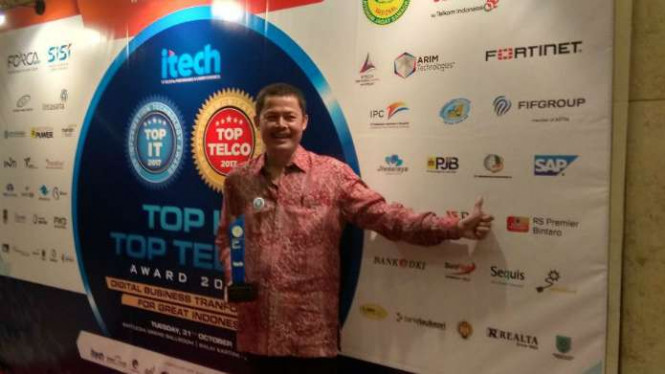 Senior Vice President Teknologi Informasi Holding Perkebunan Nusantara Setiawan