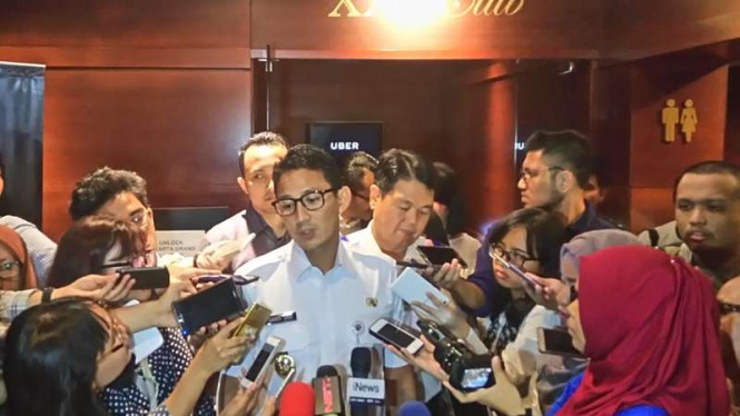 Wakil Gubernur DKI Sandiaga Uno