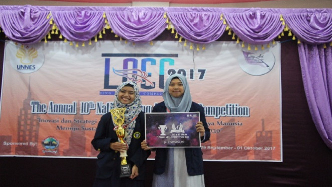 The 10th Annual Ling Art Essay Competition 2017.