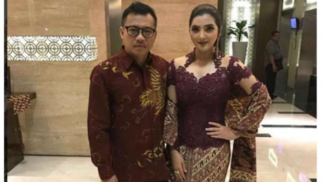 Pasangan selebritis Anang Hermansyah dan Ashanty