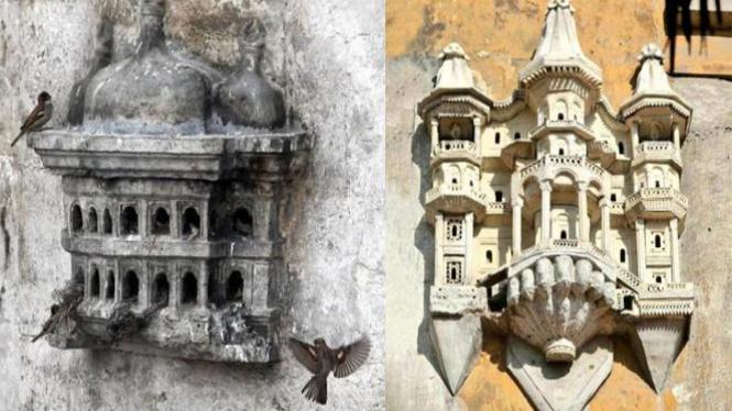 Istana burung peninggalan Kerajaan Islam Ottoman.