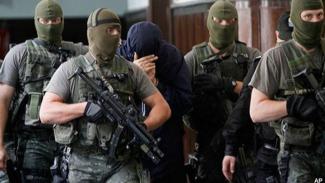 Mossad, badan intelijen Israel.