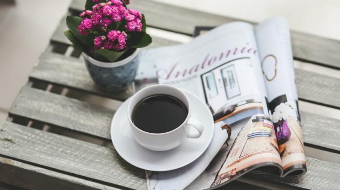Ilustrasi kopi/kopi hitam.