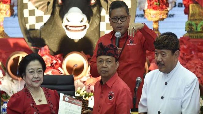 Pasangan I Wayan Koster-Tjokorda Oka diusung PDIP di Pilgub Bali 2018