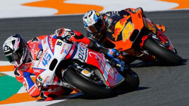Pembalap MotoGP.