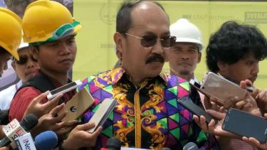 Mantan kuasa hukum Setya Novanto Fredrich Yunadi.