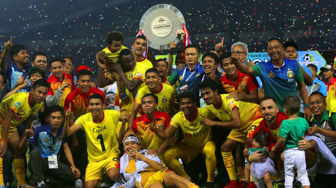 Bhayangkara FC Juara Liga 1