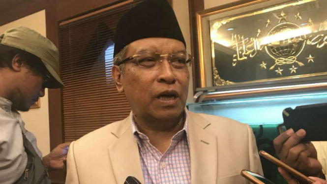 Ketua Umum Nahdlatul Ulama, Said Aqil Siroj.
