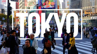 Wisata di Kota Tokyo, Jepang.