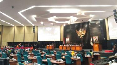 Sidang paripurna DPRD DKI Jakarta, Rabu, 15 November 2017