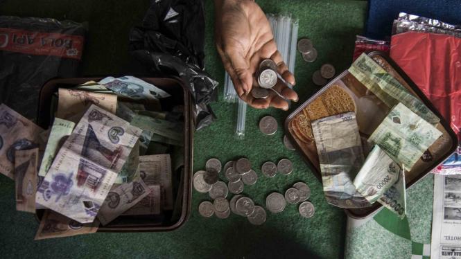 (Foto Ilustrasi ekonomi Papua) Seperti ini Aktivitas Ekonomi di Perbatasan Papua-Papua Nugini