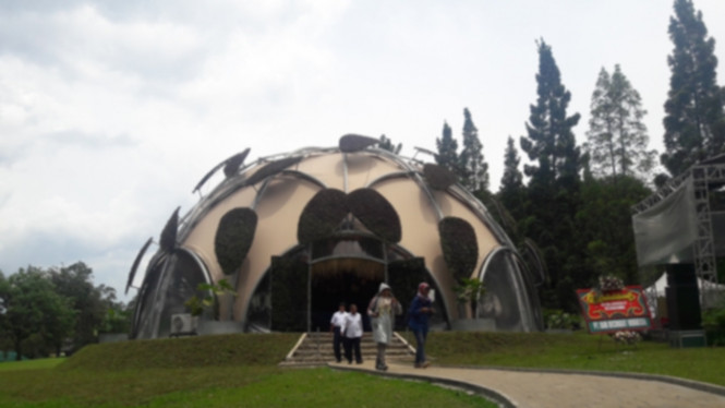 Ecodome, wahana baru Kebun Raya Bogor
