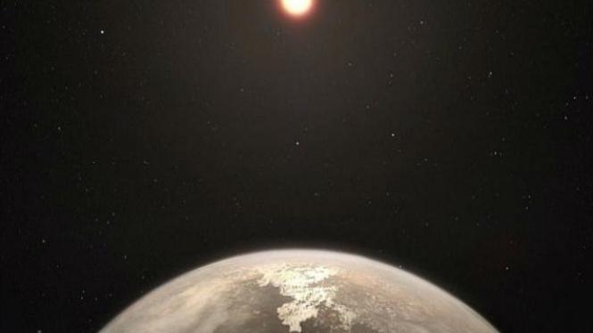 Planet mirip Bumi.