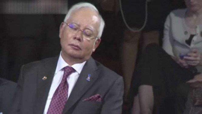 Mantan Perdana Menteri Malaysia Datuk Seri Najib Tun Razak